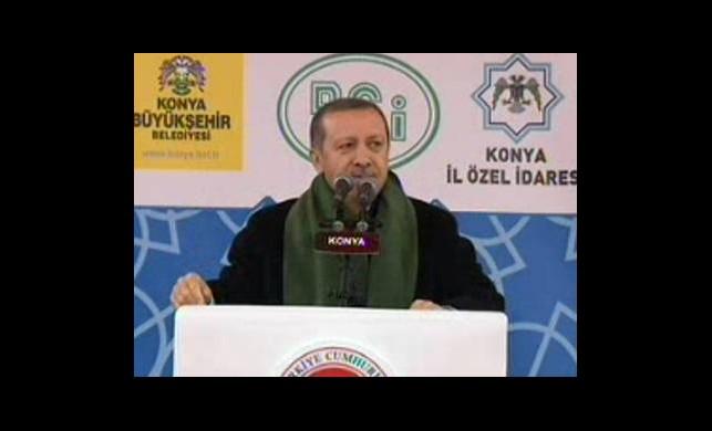 Başbakan Konya'da