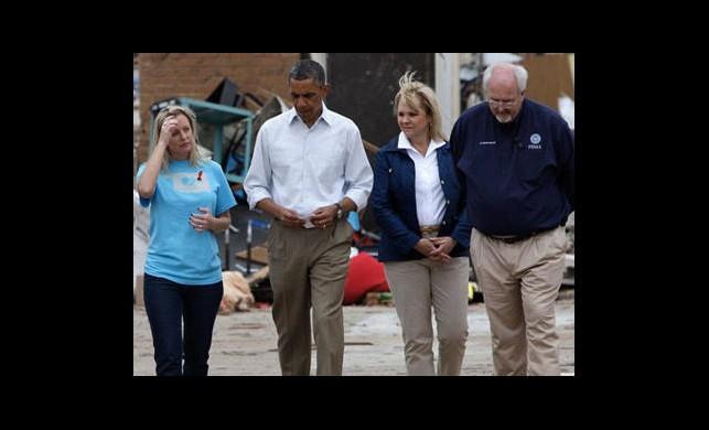 Obama'dan Hortum Bölgesine Ziyaret