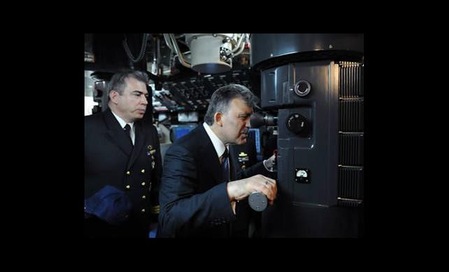 Cumhurbaşkanı Denizaltında