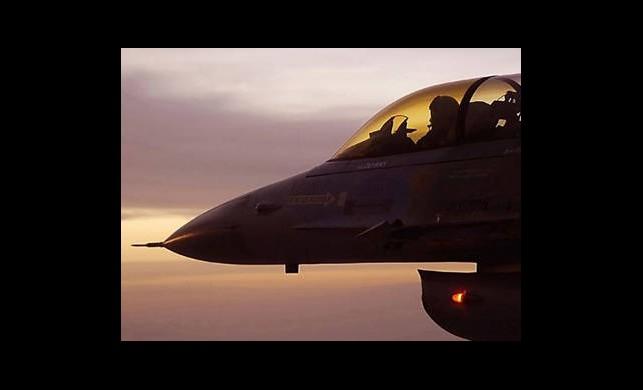 Son Manevra Da Türk Uçağını Kurtaramadı