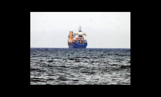 Suriye'ye Silah Taşıyan Gemi Durduruldu