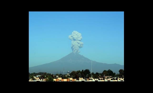 Meksika'da Yanardağ Paniği