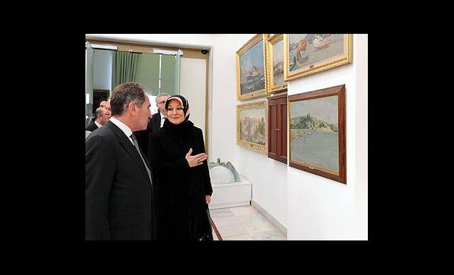 Hayrünissa Gül'den Müze Ziyareti