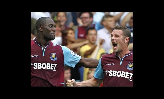 West Ham:3 Fulham:0