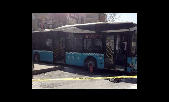 Otobüse Molotof Attılar
