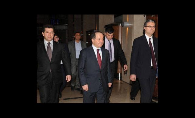 Barzani Terör Örgütünü Uyardı