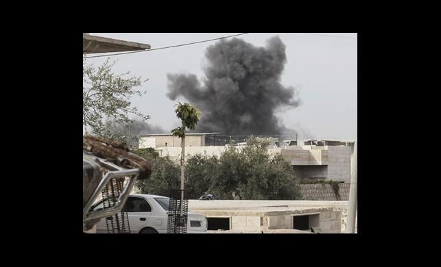 Suriye'de Fırına Bomba