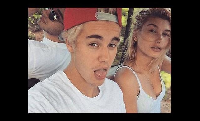 Justin Bieber'dan Selena Gomez'e resimli cevap