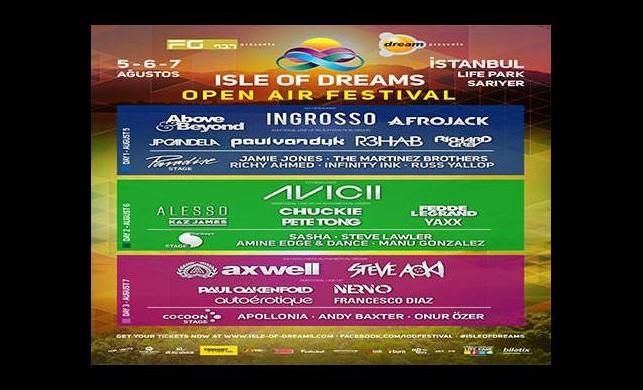Rüya festival 'ISLE OF DREAMS' gerçek oluyor