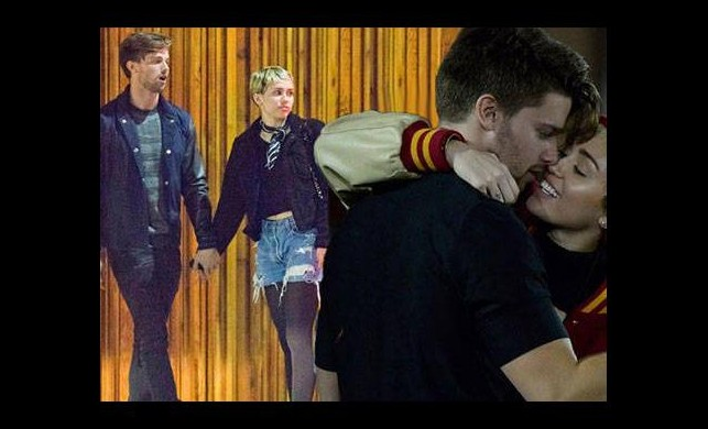 Miley Cyrus bu kez aşkı buldu