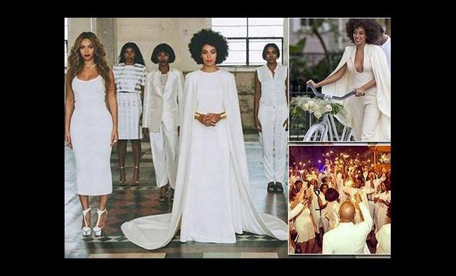 Beyaz düğünden ilk kareler
