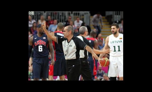 Erkekler Basketbol A Grubu Litvanya: 94 - ABD: 99
