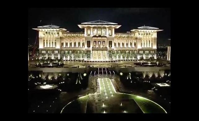 Cumhurbaşkanlığı Sarayı'nın yeni adını Erdoğan açıkladı