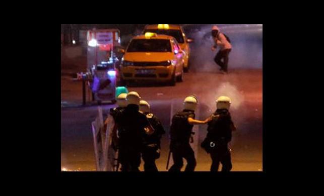 Ankara'da da Müdahale