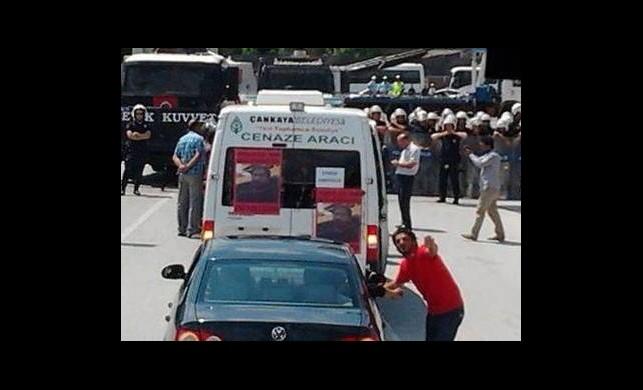 Ankara'da Müdahale