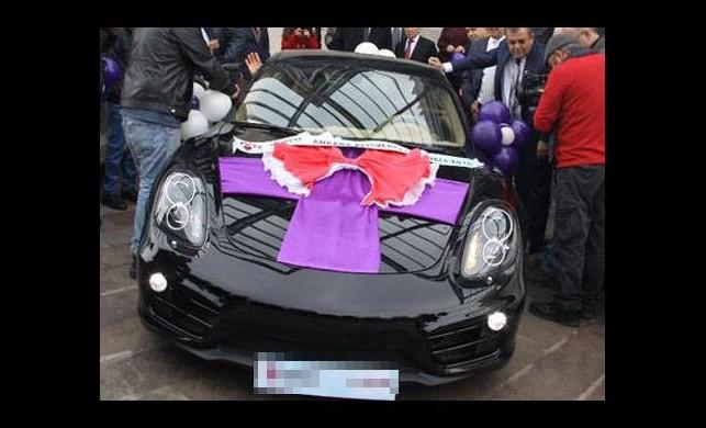 Çekilişten Porsche kazandı ama...
