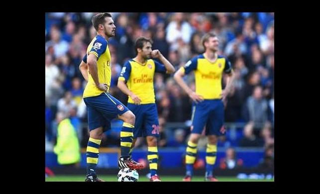 Arsenal 1 puanı zor kurtardı