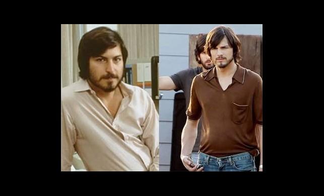 Ashton Kutcher, Steve Jobs'a Benzerliğiyle Şaşırttı