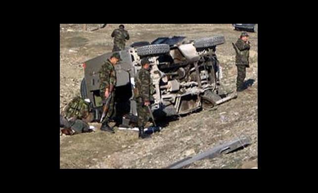 Askeri Araç Devrildi: 1 Şehit