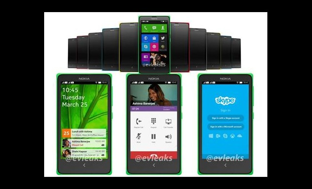 Nokia X ve Galaxy S5!