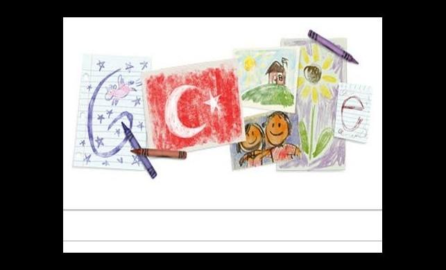 Google'dan 23 Nisan doodle'ı