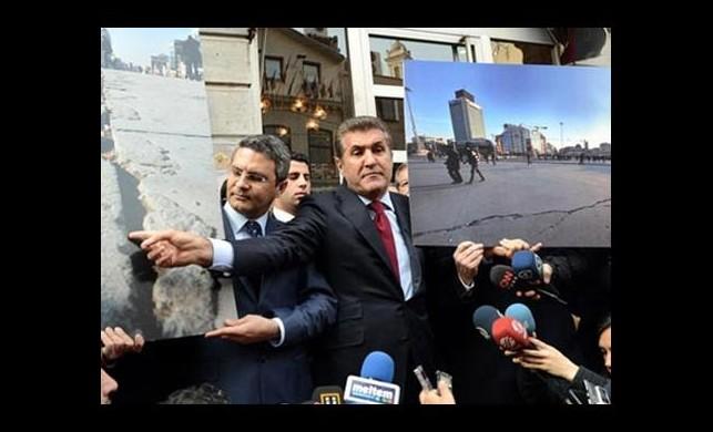 Ona Taksim yasak!