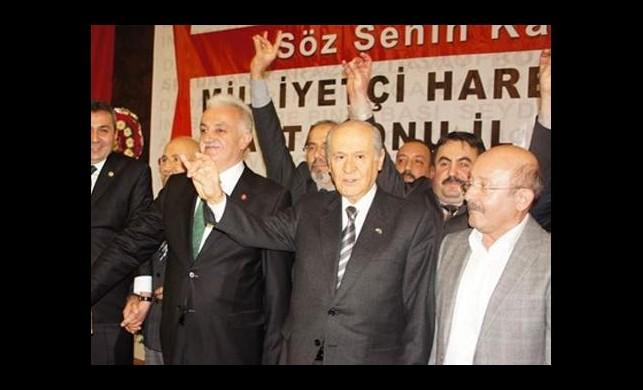 Bahçeli MHP düşmanı iki unsuru açıkladı
