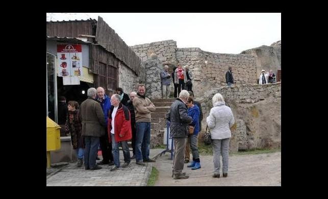 Turistler buraya akın ediyor