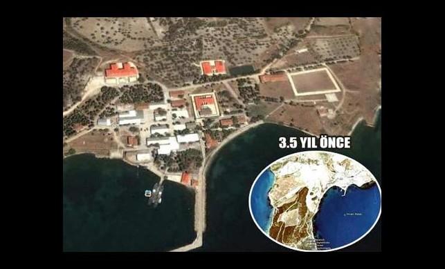 Google'ın İmralı Haritası Açılımı