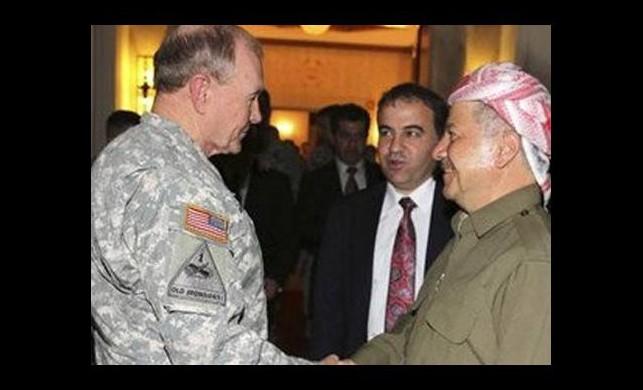 ABD Genelkurmay Başkanı Erbil'de!