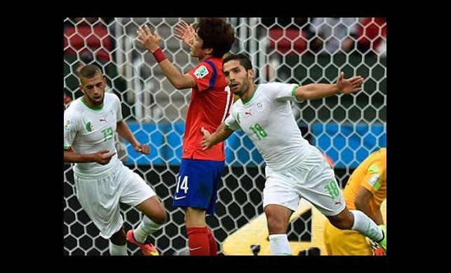 Cezayir şov yaptı!