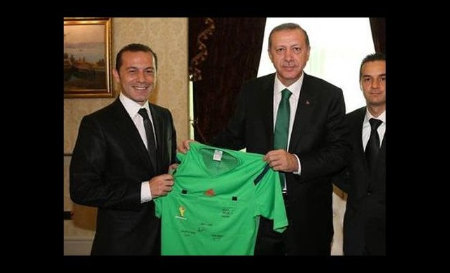 Başbakan Erdoğan, Cüneyt Çakır'ı kabul etti