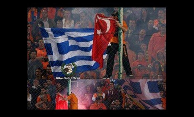 Derbide Türk bayrağını yaktılar!