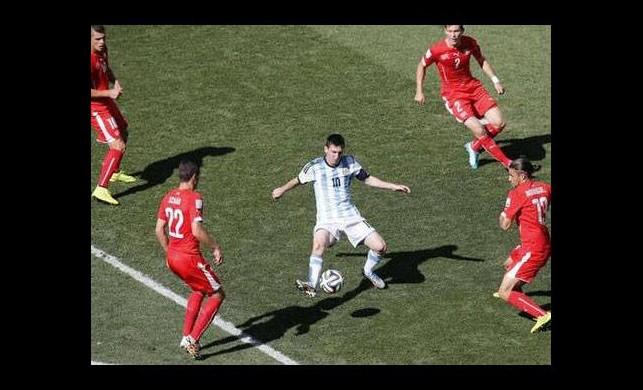 İsviçre direndi, Arjantin tur atladı!