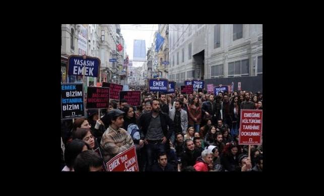 Emek Sineması Protestosuna Dava!