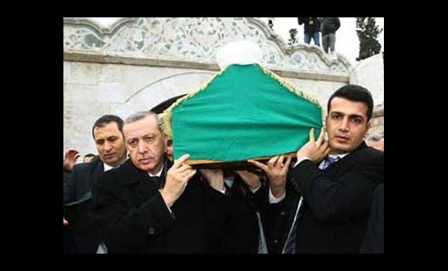 Erdoğan'dan hocasına son görev