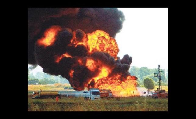 Hackerlar petrol boru hattını patlattı!