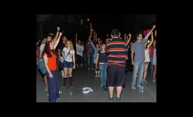 Eskişehir'de Eylem Gerginliği