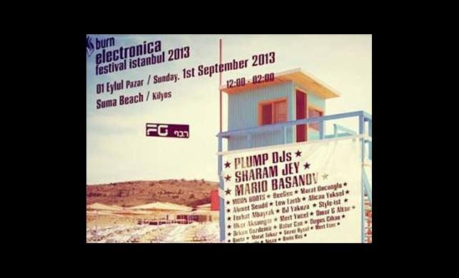 Burn Electronica Festival 1 Eylül'de