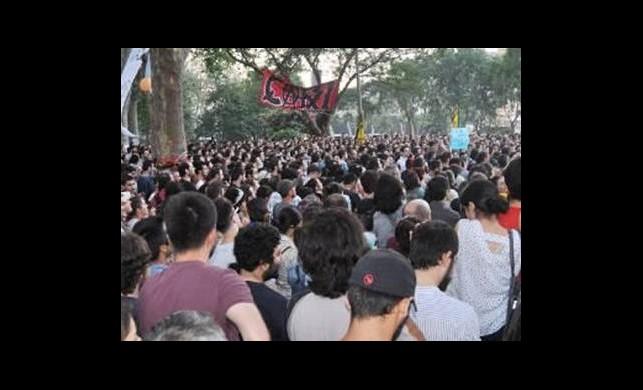 Çarşı Gezi Parkı'nda!