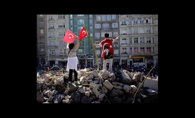 'Gezi' Arapları İkiye Böldü!