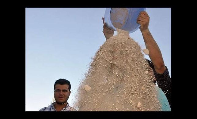 Gazze için 'bir kova kum kampanyası'