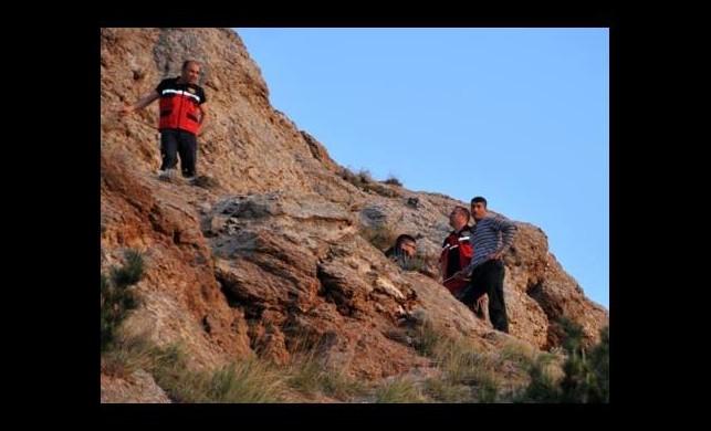 Baba oğul dağa tırmanmaya başladı ama...