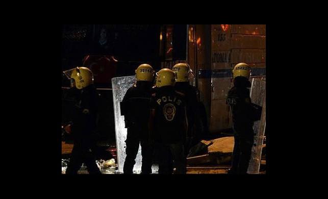 Harbiye'de Polis Müdahalesi