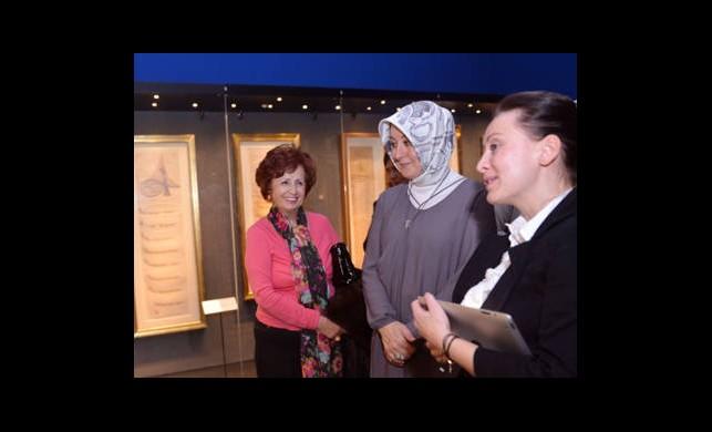 Sakıp SabancıMüzesi'ni Ziyaret Etti