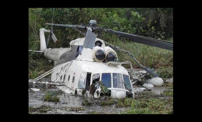 Milletvekilinin helikopteri düştü!