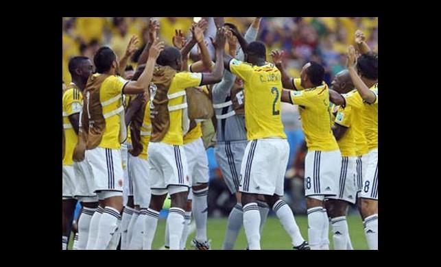 Kolombiya'dan tarihi gol