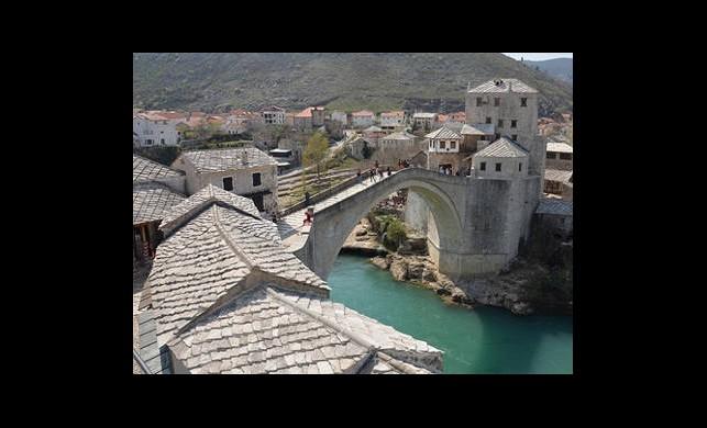 Mostar Köprüsü'nü Yıkanlara Tarihi Ceza
