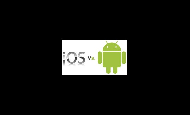 Cihaz olarak iPhone Platform Olarak Android Lider