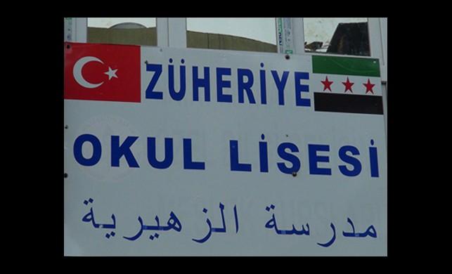 Reyhanlı'da ÖSO Okuluna Tepki!